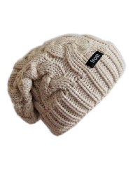 Amazon.com: Frost Hats Winter Slouchy Beanie Cable Hat Frost Hats M 179: Clothing, Shoes & Jewelry