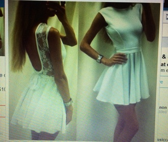 dress white white dress lace dress lace fited dress cute summer dress summer
