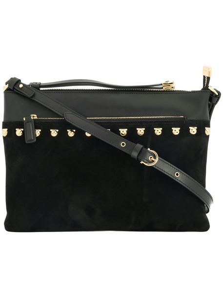 Salvatore Ferragamo studded women bag shoulder bag leather black