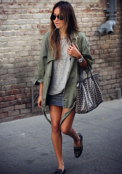 sincerely jules jacket t-shirt skirt shoes bag sunglasses