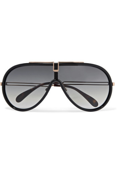 Givenchy - D-frame Acetate And Rose Gold-tone Sunglasses - Black