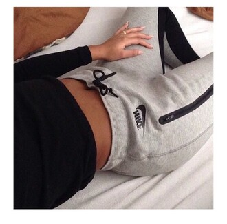 pants nike cotton grey logo joggers women tracksuit trousers nike sweatpants gray nike sweatpants grey sweatpants nike grey sweatpants black and white sportswear nike sportswear leggings jeans black tumblr girl joggers pants tracksuit tights tight noob adidas track pants joggers gray