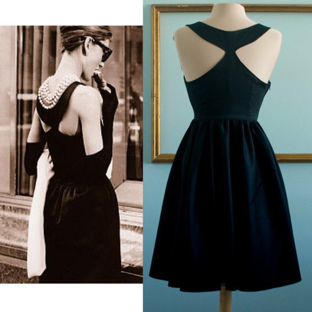 50s style black dress party dress prom dress retro dress vintage dress 50s style black. Black Bedroom Furniture Sets. Home Design Ideas