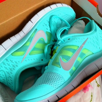 tiffany nike sneakers tiffany blue nikes fashion nike tiffany blue nike free run nike running shoes women shoes