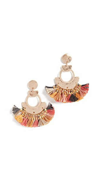 SHASHI tassel earrings jewels