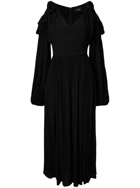G.V.G.V. dress women cold black