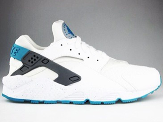 Nike Air Huarache - White - Turbo Green - SneakerNews.com