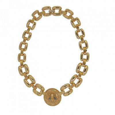 Lotus Mendes |   King Tut Necklace – Gold