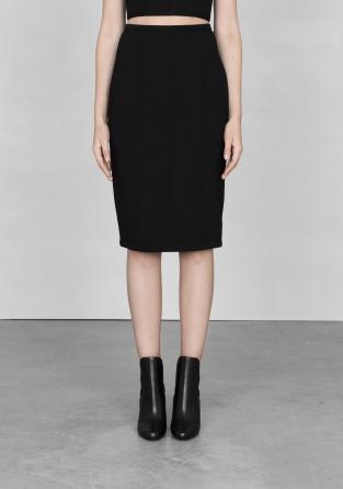 Black midi skirt | Black midi skirt | & Other Stories