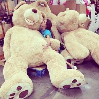 home accessory stuffed animal oversized teddy bear love