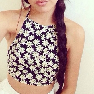 floral top daisy