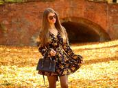 only my fashion style,blogger,dress,bag,shoes,fall dress,fall outfits