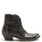 Young distressed-leather ankle boots