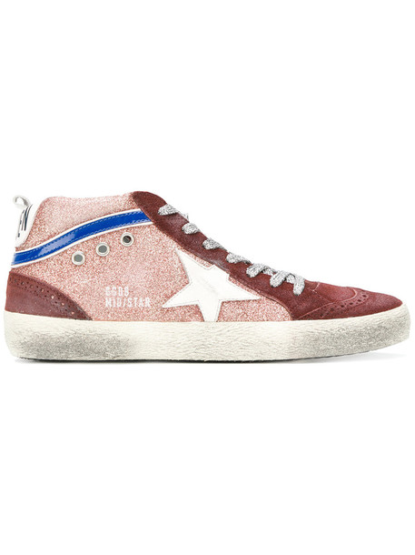 GOLDEN GOOSE DELUXE BRAND women sneakers leather red shoes