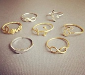 jewels,ring,infinity,moon,jewelry,heart,anchor,elegant,gold ring