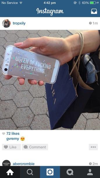 phone cover iphone 5 case purse/iphone case iphone case clear clear case glitter glitter case home accessory