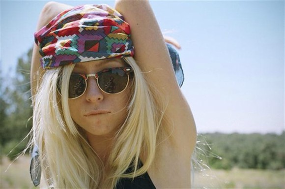 rainbow aztec colourful hair accessories colourfulbandana bandana head scarf hair, accessories, tips scarf