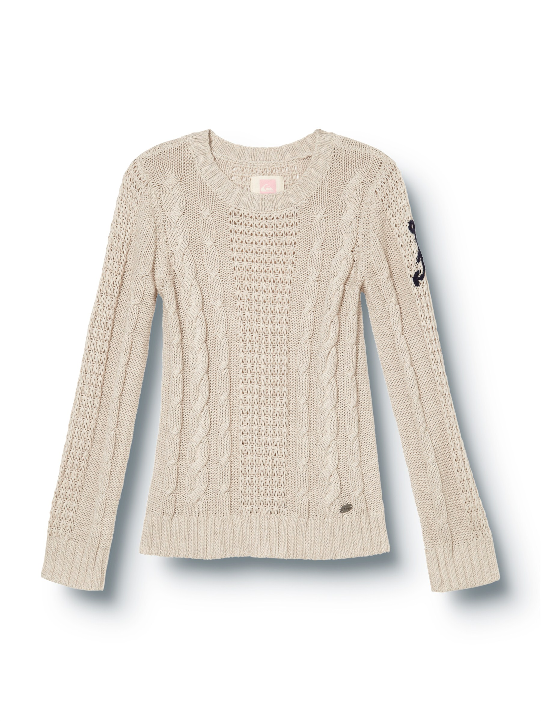 Cable chain sweater