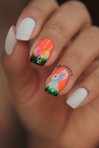 nail polish nails nail art nail stickers love lovely easter