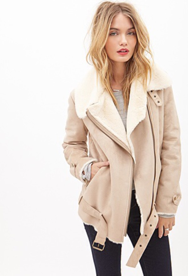 Fall Outfits Shearling Jacket - Shop for Fall Outfits Shearling