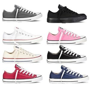 CONVERSE Chuck Taylor All Star Low Top Shoes Unisex Canvas Sneakers