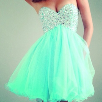 dress turquoise homecoming long dress sequins one shoulder dress aqua baby blue blue sparkles princess