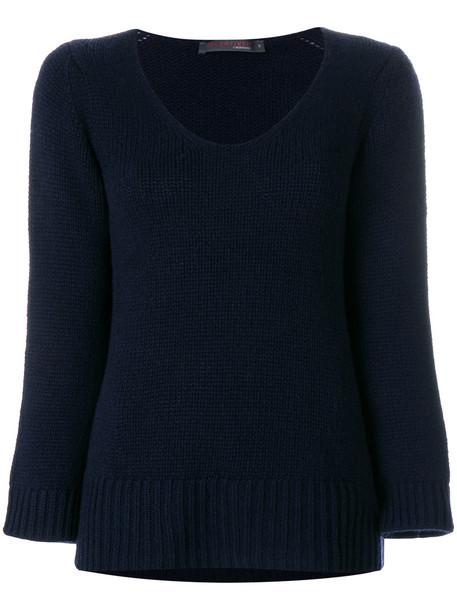 Incentive Cashmere jumper women blue sweater