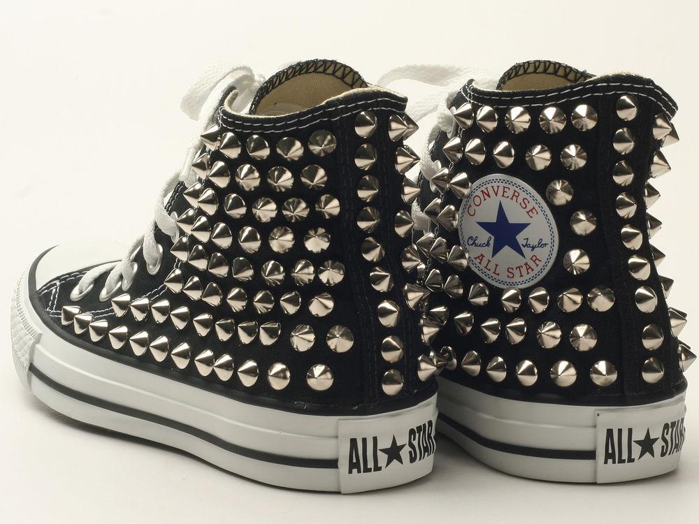 72df779a46e23e Original Converse All Star HBKN Custom Chuck Taylor Spike stud ...