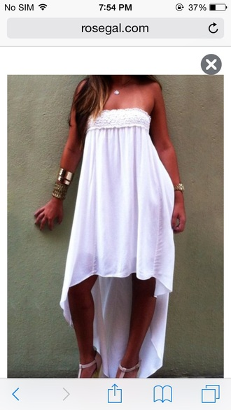 dress white cute girly girl girly wishlist style fashion sexy sexy dress sexy party dresses white dress sleeveless sleeveless dress sleebeless sleebell sleeves cute dress summer dress summer outfits summer summer holidays summer beauty beautiful beauty fashion shopping high low high low dress pretty a pretty pass strapless strapless dress dope dope wishlist dope shit wish wish wish trendy