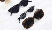 sunglasses,sunnies,tiny sunglasses,small sunglasses,oval sunglasses,black sunglasses,glasses,trendy,accessories,Accessory