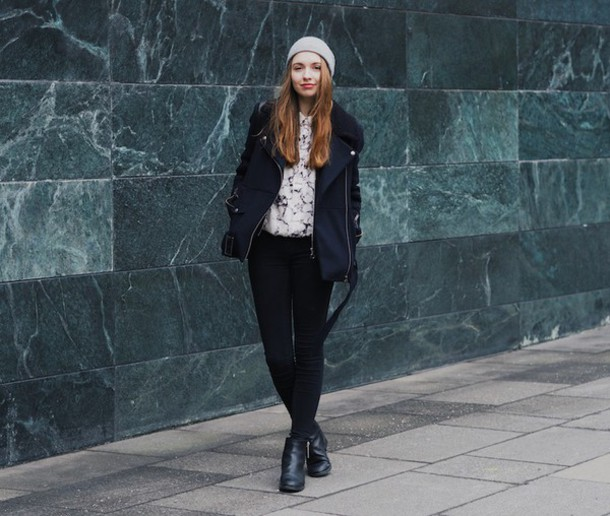 cruel thing blogger shirt marble black jacket jacket jeans