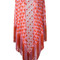 Missoni - patterned tassel cape - women - polyester/cupro/viscose - one size, red, polyester/cupro/viscose