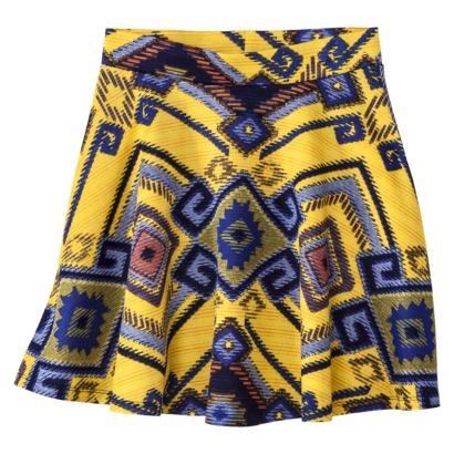 Xhilaration® Junior's Pattern Skirt - Assort... : Target
