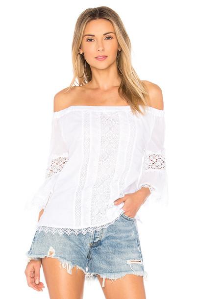 Charo Ruiz Ibiza blouse white top
