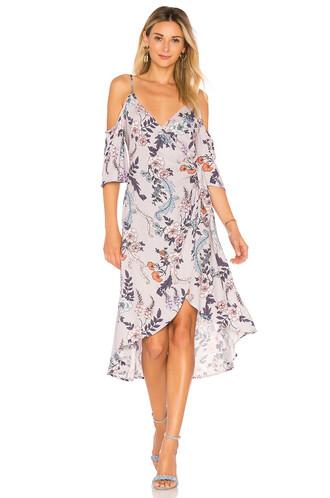 dress wrap dress love lavender