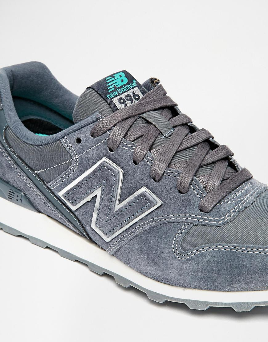 new balance 996 grey trainers