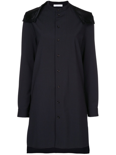Jean Paul Knott dress high women black wool