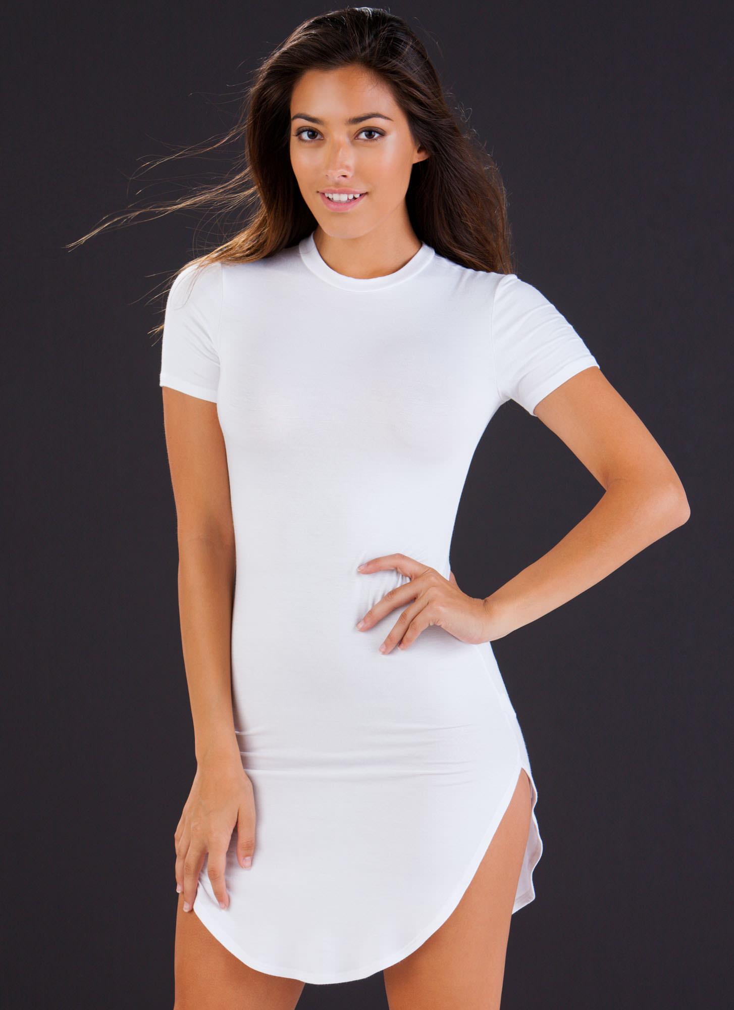 Chic Bodycon Dress ROYAL MUSTARD WHITE BLACK HUNTERGREEN - GoJane.com