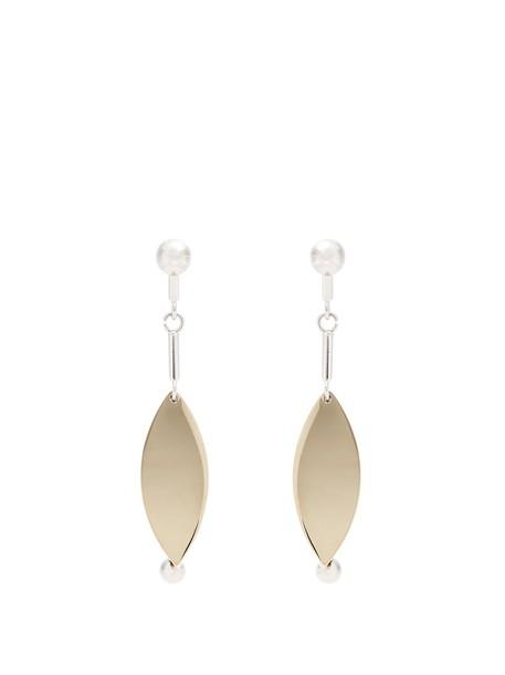 Proenza Schouler earrings silver jewels