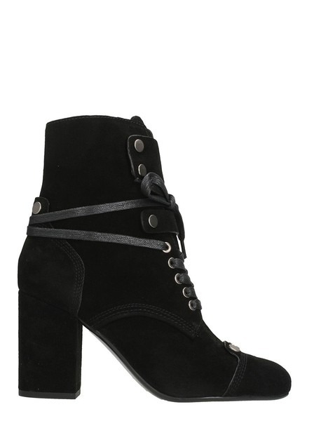 LOLA CRUZ suede ankle boots ankle boots suede black shoes
