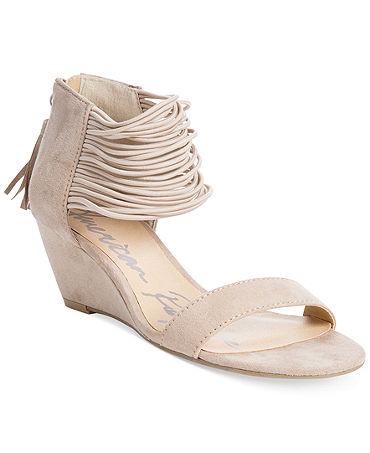 American Rag Carllie Demi Wedge Sandals - Juniors - Macy's