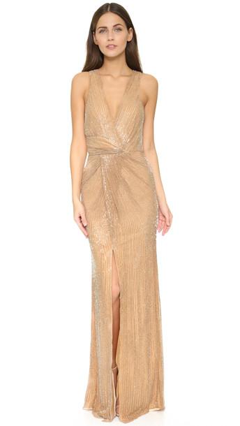 Parker Monarch Gown - Blush
