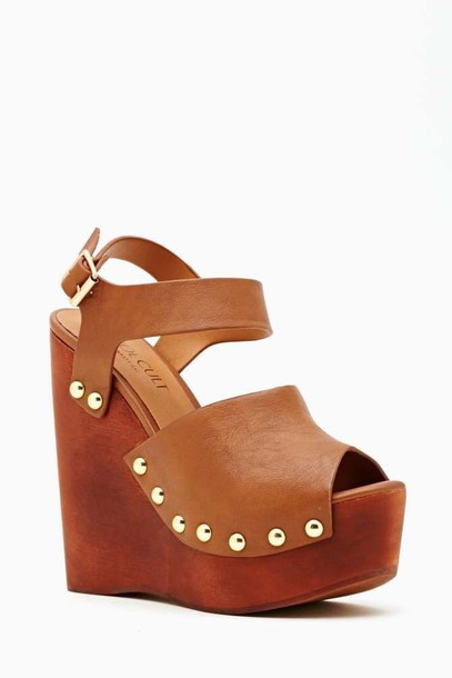 shoes wedges heels high beige fashion summer summer wedges brown shoes