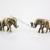E1429 New Arrival Retro Vintage Bronze Cute Elephants Stud Earrings | eBay