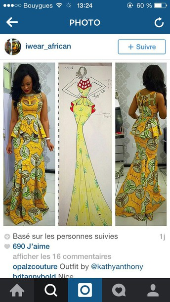 dress african style