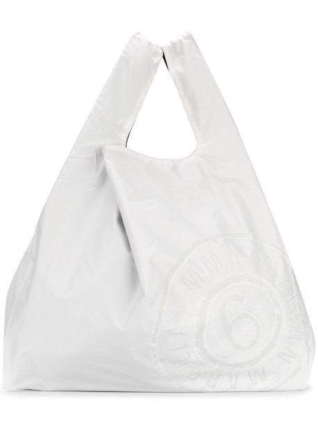 Mm6 Maison Margiela women bag tote bag white