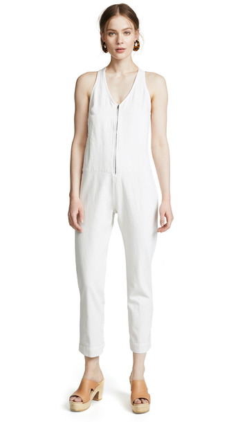 Rachel Comey Buxton Jumpsuit in white
