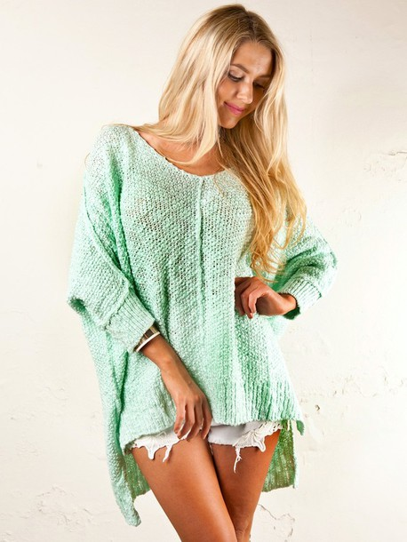 sweater blouse knitted sweater