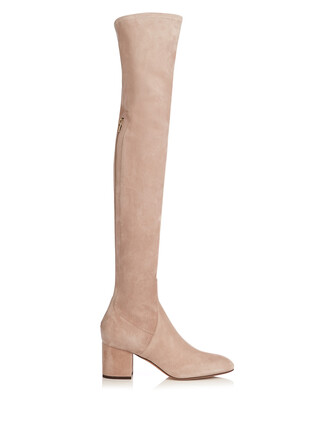 boots suede boots suede nude shoes