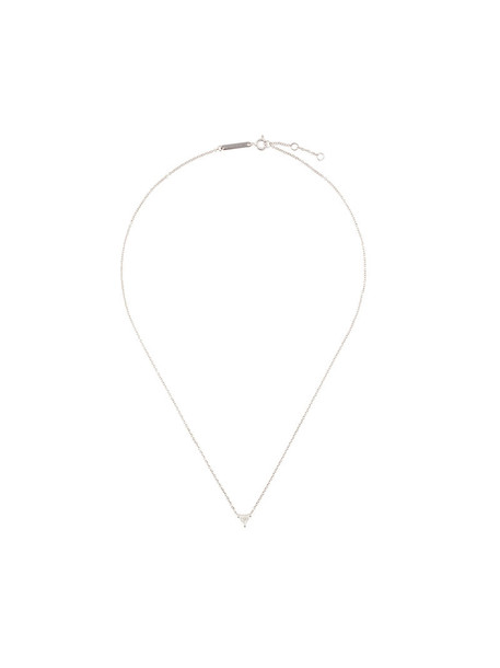 Delfina Delettrez women necklace diamond necklace gold grey metallic jewels